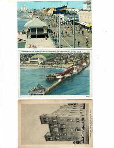 3 Card New Jersey Lot, Ocean City, Atlantic City, Hudson Heights!