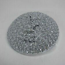 SEVETILKA Noble Design Chandelier Small Crystal Beads Bowl Shaped Ceiling LIGHT
