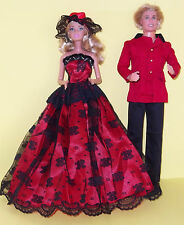 BARBIE SINDY KEN, OUTFITS, PARTY, WEDDING, PROM CLOTHING - GORGEOUS