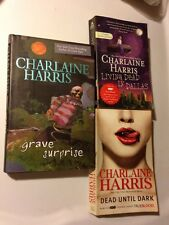 CHARLAINE HARRIS TRUE BLOOD DEAD UNTIL DARK LIVING DEAD IN DALLAS GRAVE SURPRISE
