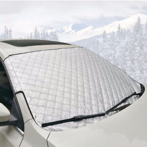 Universal Snow Car Cover Windshiled Windscreen Protector Frost Proof All Season