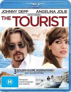 The Tourist BLU RAY Johnny Depp Movie - REGION B AUSTRALIA