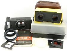 ⭐NEW⭐ SKF-1 Russian Stereo Attachment Kit Taking 3D Pictures & Viewing Slides #5