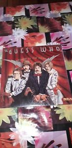 ORIGINAL US LP ROCK GUESS WHO POWER IN THE MUSIC 1975 SEALED RCA