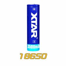 XTAR 18650 3500mAh High Capacity Rechargeable Li-ion Battery Protected For D06