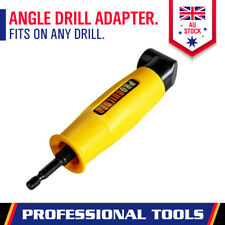 "Right Angle Drill Attachment 90° Degree Drill Adapter 1/4"" Drive Key Adaptor New"