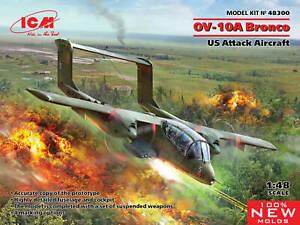 ICM 48300 US Attack Aircraft OV-10А Bronco 1/48