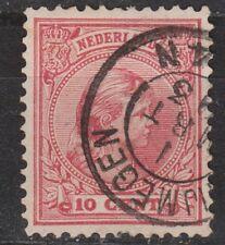 NVPH Netherlands Nederland nr 37 CANCEL NIJMEGEN Wilhelmina 1893