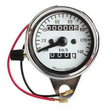 Motorrad Mini Elektronischer Tachometer mit Kilometerzaehler Nachtlicht DE