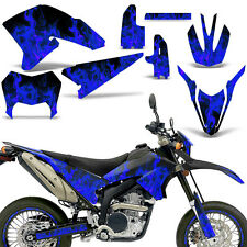 Yamaha Graphic Kit WR 250x WR250 X/R Bike Decal Wrap w/ Backgrounds 07-16 ICE U