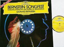 Leonard Bernstein Songfest National si Washington LP DG 2531044 Presque comme neuf