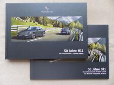Porsche 911 50 Jahre Jubiläumsmodell - Hardcover Prospekt + Preisliste 06.2013