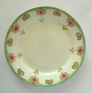 Gorgeous Deco Blairs China Tulip side plate.  18.5cm  Pattern 3119