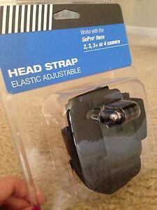 Head Strap Elastic Adjustable for GoPro Hero 2,3,3+ Or 4 Camera.