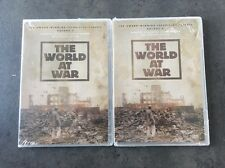 The World at War, the: Vol. 3 & 5 (2004) DVD, thin case brand new sealed A&E TV