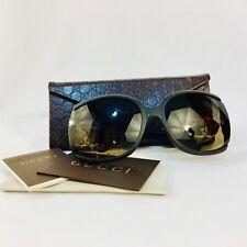 GUCCI Buckle GG 3511/S XZFR4 Black Gradient Square Acetate Sunglasses