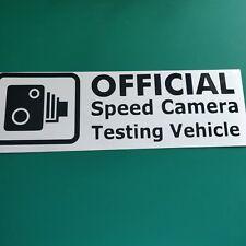 Speed Camera Tester - Car/Van/Bike/Laptop/Bumper Decal Sticker Graphic