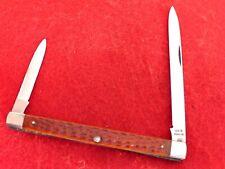 Case XX 1940-64 mint red bone 6296X citrus melon tester two blade knife