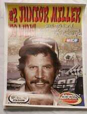 "Nascar Bowman Gray Stadium 59 Wins ""Junior Miller""  24"" x 18"" Poster # 2 of 5"