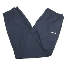 Adidas Men's Sz Xl Navy Blue Track Pants Elastic Zipper Ankle Vintage