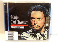 MARIO DEL MONACO  -  GREATEST HITS  -  CD 2006  NUOVO E SIGILLATO