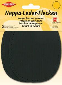 Kleiber Nappa Leder Flecken zum Annähen 12,5 x 10cm 5 Farben