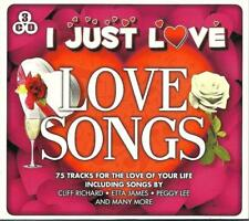 I JUST LOVE LOVE SONGS - VARIOUS ARTISTS (NEW SEALED 3CD) Etta James,Paul Anka