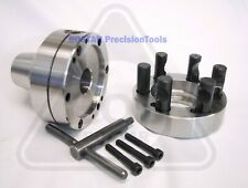Bostar 5c Collet Lathe Chuck With Semi Finished D1 5 Back Plate