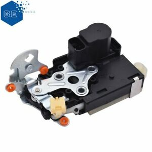 For CHEVROLET GMC Power Door Lock Actuator w/ Latch Front Left w/ Keyless Entry