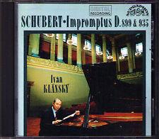 Ivan klansky: Schubert 8 Impromptus d.899 & 935 Supraphon CD op.90 & 142