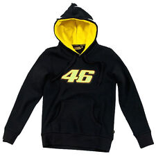 New Official VR46 Womans Black Hoodie - VRXWFL 2027 04