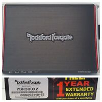 Rockford Fosgate Prime PBR300X2 Car 300W RMS 2-Channel Amplifier OPEN-BOX#