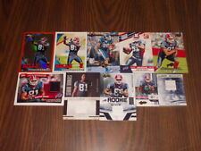 MARCUS EASLEY 17 CARD LOT ALL ROOKIES WITH 4 JERSEY CARDS BUFFALO BILLS UCONN