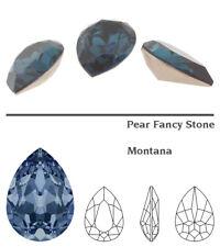 Genuine SWAROVSKI 4320 Pear Fancy Stone Crystal Rhinestone * Many Colors & Sizes