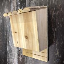 More details for large wooden bat roosting nesting box wildlife habitat shelter