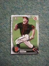 Heath Quinn (San Francisco Giants) Signed Baseball Card