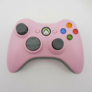 PINK XBOX 360 WIRELESS CONTROLLER (Microsoft, 2007) Tested & WORKS!