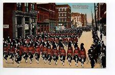 CANADA carte postale ancienne TORONTO 42  - 48 th higlanders