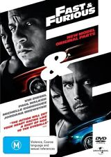 Fast & Furious (DVD, 2009) Region 4 (VG Condition)