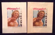 Vinatge 1975 Playgirl Calendar with Slip Case Rare- Hard to Find!!!