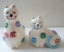 Cats Salt and Pepper Pot set, by Kitty & Pooch NEW