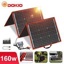 160W 12V tragbares Solarpanel Solarmodule für Autobatterie/tragbaren Generator