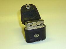 ROWENTA POCKET WICK LIGHTER WITH LEATHER COAT - FEUERZEUG - 1948-1957 - GERMANY