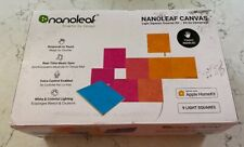 BRAND NEW Nanoleaf Canvas Smarter Kit - 9 Light Squares Multicolor