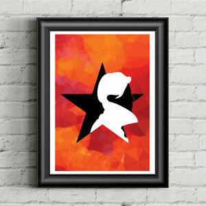 DAVID BOWIE Music Icon Blackstar Low Minimal Poster Digital PDF Art Print Vinyl
