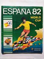 ALBUM ESPANA 82 WORLD CUP PANINI QUASI COMPLETO FIGURINE MARADONA PLATINI