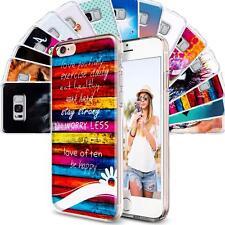 Handy Hülle Apple iPhone 5C Cover Case Schutz Tasche Motiv Slim TPU Silikon