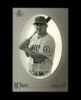2020 Topps Allen & Ginter MIKE TROUT Jumbo Cabinet Box Loader Topper Angels