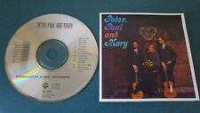 PETER PAUL AND MARY 1962 1990 CD mint! CRC THIS TRAIN IF I HAD A HAMMER 500 MILE