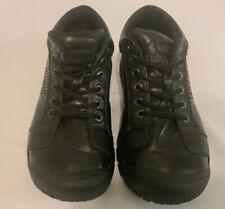 Keen Men's Austin Oxford Sz 9.5 M Black Leather Walking Hiking Work Lace up Euc
